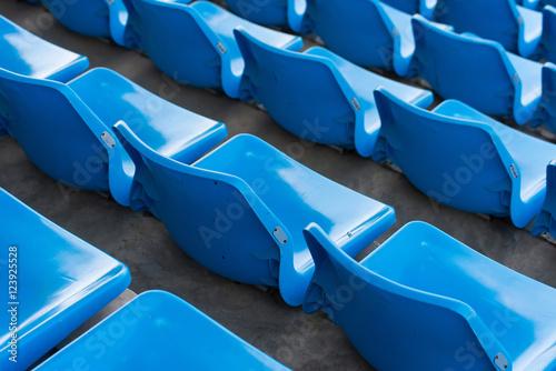 Stadium seats in rows © pongsakorn_jun26