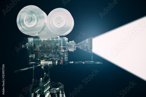 Photo  Cinema concept