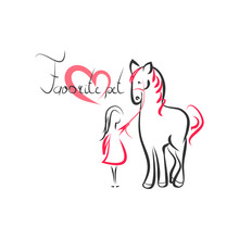 Favorite Pet Horse