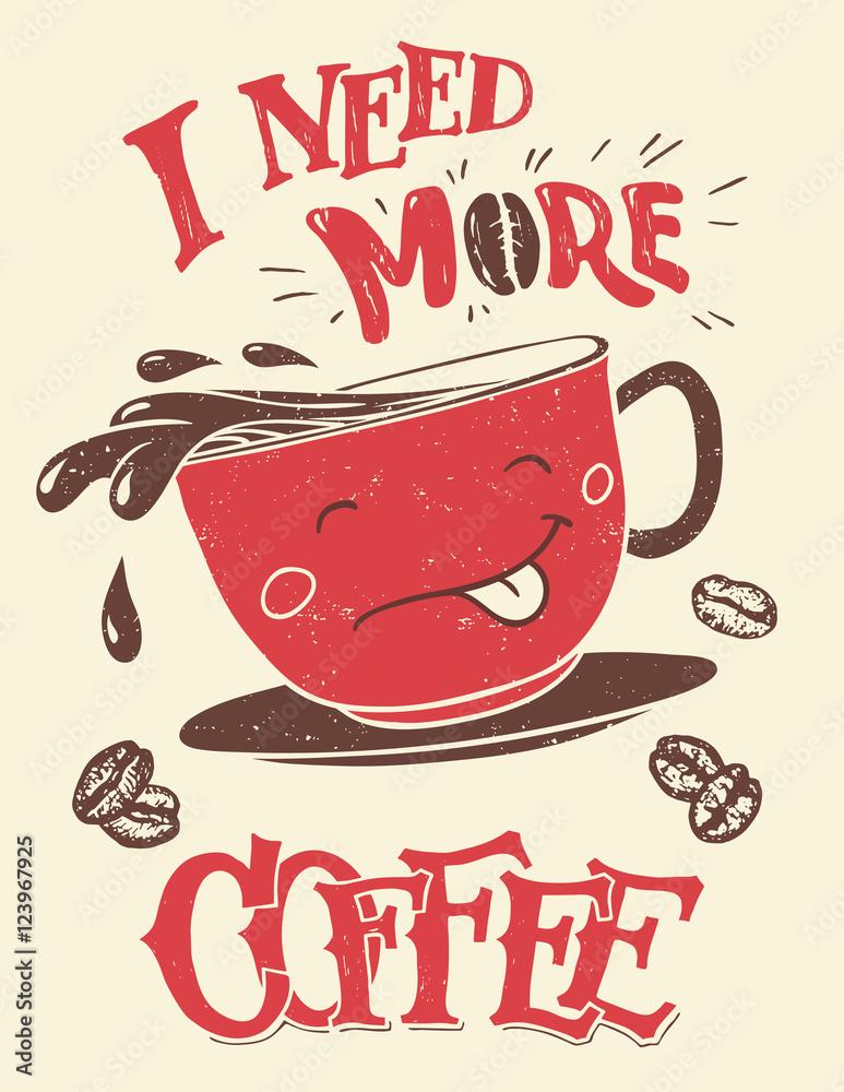 Fotografija  I need more coffee
