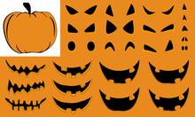 Halloween Pumpkin Builder