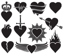 Hearts Vector Collection