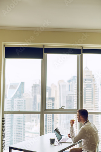 Photo Businessman in an office.