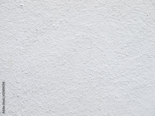Foto op Aluminium Wand The white plastered wall texture