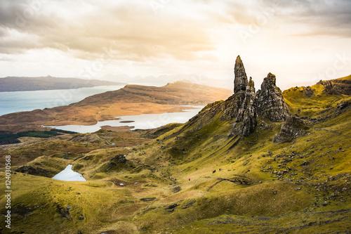 Fotomural Old Man of Storr, Isle of Skye ,Scotland