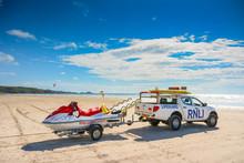 Lifeguard Truck And Jetski