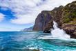 North Coast scenery, Madeira, Portugal