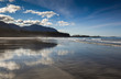 The Sandy Beach At Rugged Point Marine Park On The West Coast Of Vancouver Island; British Columbia, Canada