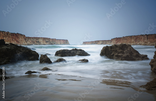 Cala Del Aceite Beach; Costa De La Luz, Cadiz, Andalusia, Spain