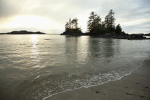 Ucluth Beach In The Wya Point Campground Near Ucluelet On Vancouver Island; British Columbia, Canada