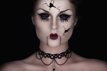 Spooky Talking Broken Doll