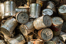 Canned Package Old Cluster Pile Midden