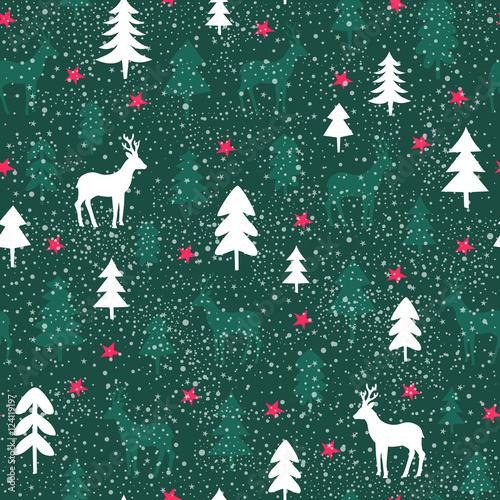 Stoffe zum Nähen Musterdesign Weihnachten