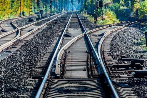 Poster Railroad Bahnlinie Köln-Neuss 05