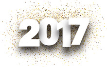2017 Background With Golden Sand.