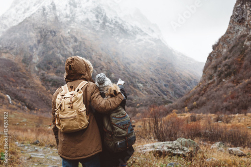 Traveling in mountains