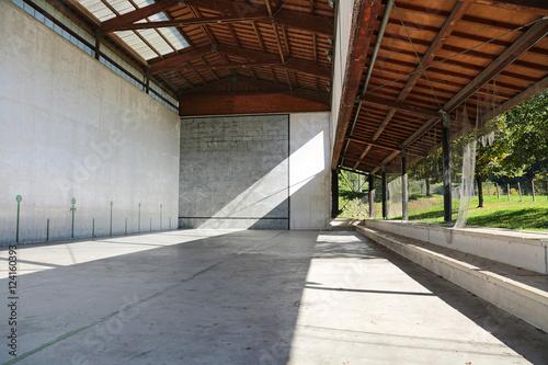 Fotografie, Obraz  frontón de pelota país vasco U84A6008-f16