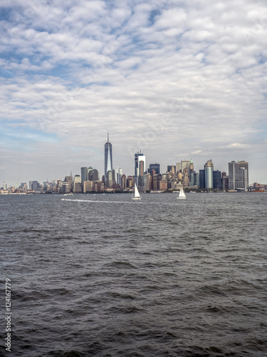 Fotografía  View of New York City from New Jersey