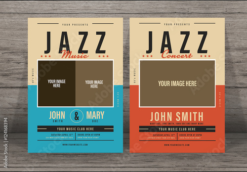 Jazz Music Flyer Buy This Stock Template And Explore Similar