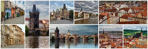 Obraz na dibondzie (fotoboard) Kolaż Republika Czeska