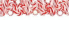 Christmas Candy Top Border Wit...
