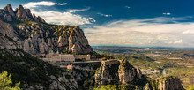 Montserrat Monastery In Mountains
