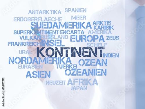 Fotografie, Obraz  Kontinent