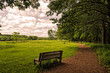 Park Bench, Effigy Mounds National Monumet, Iowa