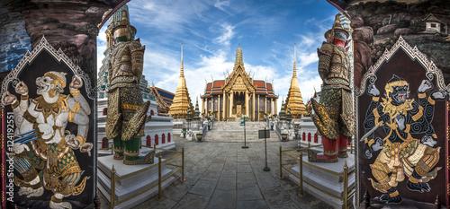 Spoed Foto op Canvas Bangkok Wat Phra Kaew