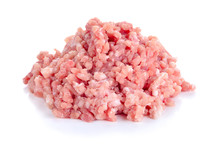 Raw Fresh Minced Meat  Isolate...