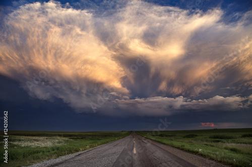 Fototapety, obrazy: Storm Clouds Saskatchewan