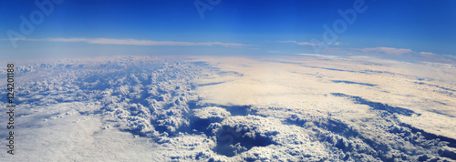 panoramic view from airplane - 124201188