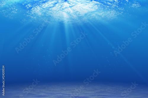 Zdjęcie XXL podwodne tło, światło