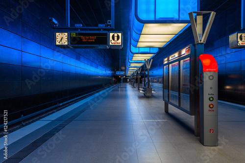 Recess Fitting Train Station U-Bahnhof Hafencity Universität