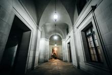 Exterior Corridor Of The Ronal...