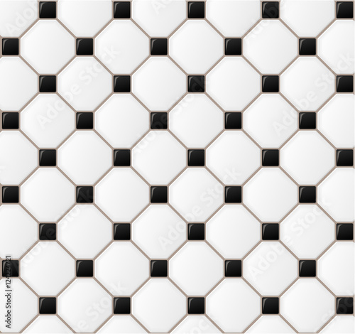 Slika na platnu floor tile design background