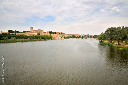 Ancient town of Zamora, Spain