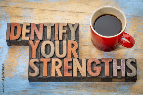 Photo Identify your strengths