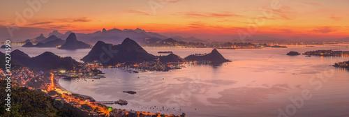 Canvas Print The climbs of Rio de Janeiro