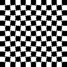 Optical Illusion - Checkerboar...