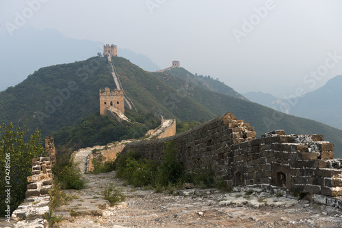 Keuken foto achterwand Chinese Muur The Great Wall of China;Beijing China