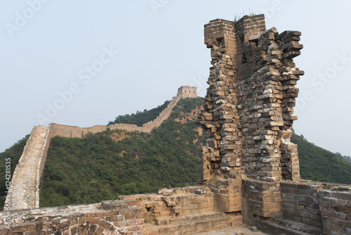 Foto op Canvas Chinese Muur The Great Wall of China;China