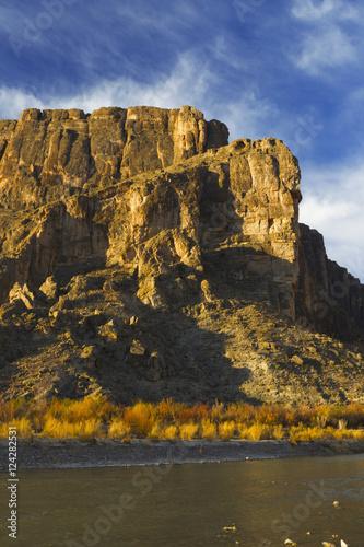 Foto op Plexiglas Texas Rio grande river and sierra ponce, big bend national park;Texas, united states of america