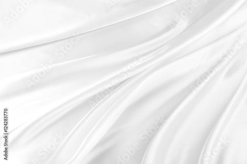 Photo White silk