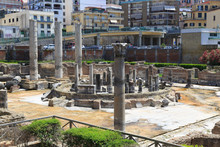The Macellum Of Pozzuoli Was The Macellum Or Market Building Of The Roman Colony Of Puteoli, Now The City Of Pozzuoli In Southern Italy.
