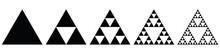 Fractal - Sierpinski Triangle (evolution)