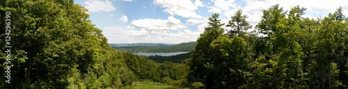 Fotografie, Obraz  Spring lake view Panoramic