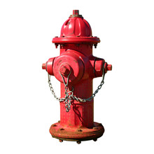Fire Hydrant – Isolated From Background