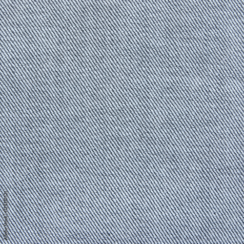Fotografie, Tablou  Close up texture of blue jean or denim fabric inside out