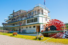 Paddlewheel Boat, Fairbanks, A...